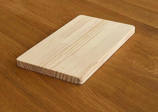 木製プレーンプレート/鍋敷き